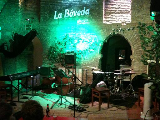 zgz conciertos zaragoza la boveda del albergue Jazz