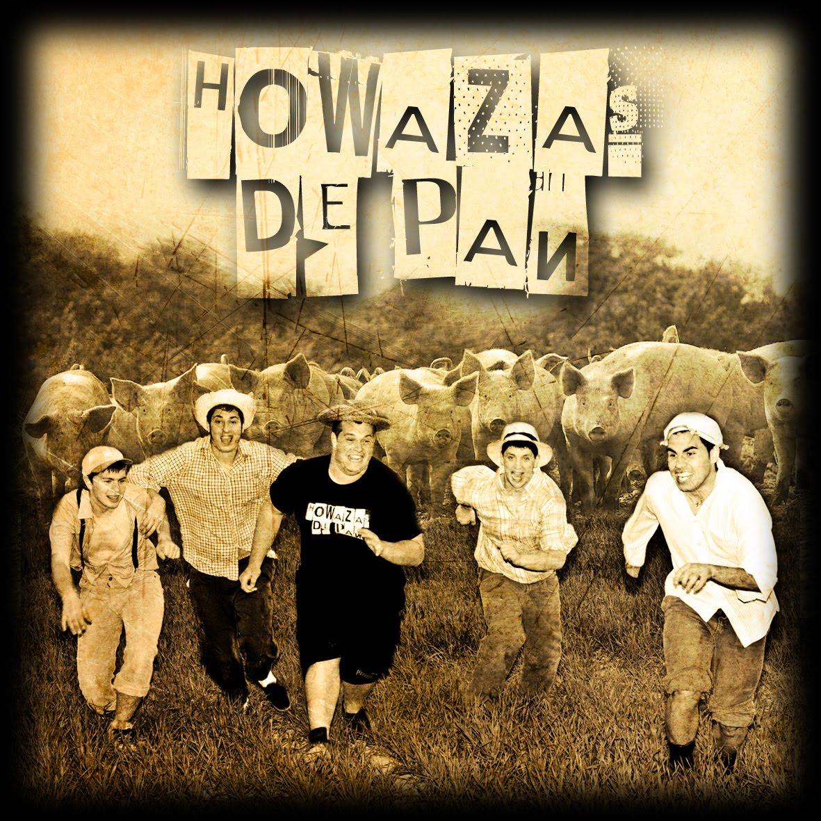 Portada Howazas de Pan zgz conciertos