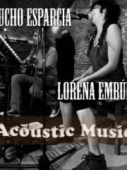 LUCHO ESPARCIA Y LORENA EMBÚN zgz conciertos