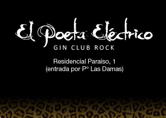 conciertos Zaragoza el poeta eléctrico