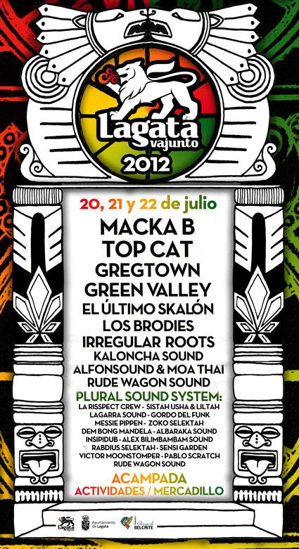 lagata vajunto festival reggae