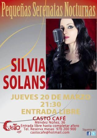 Concierto de Silvia Solans en Casto Café