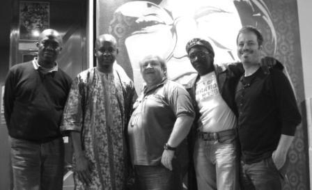 Afia Band en concierto en sala creedence de Zaragoza