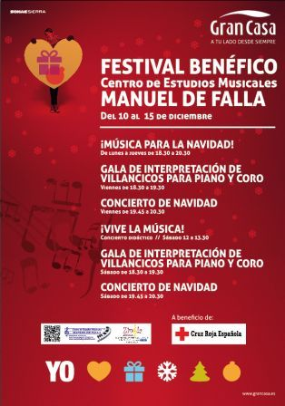 FESTIVAL BENEFICO MANUEL DE FALLA