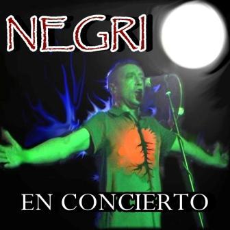 Negri en concierto en sala creedence de Zaragoza
