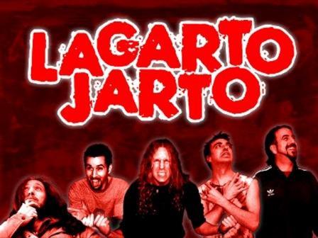 lagarto jarto en concierto en sala creedence de Zaragoza