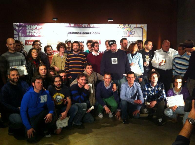XIV premios de la musica aragonesa 2013