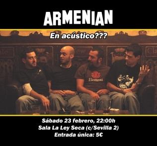 concierto Armenian la ley seca