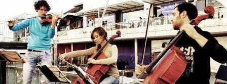 concierto la campana de los perdidos Trio Aragonaise