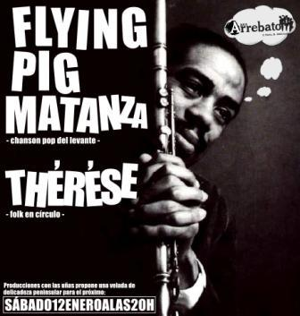 concierto Flying Pig Matanza y therese