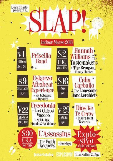 festival slap indoor 2013