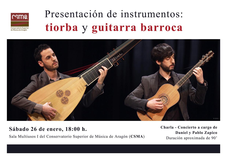 tiorba y guitarra barroca zgz conciertos