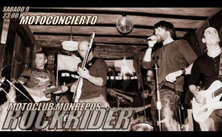 Concierto Motoclub Monrepos Rockrider