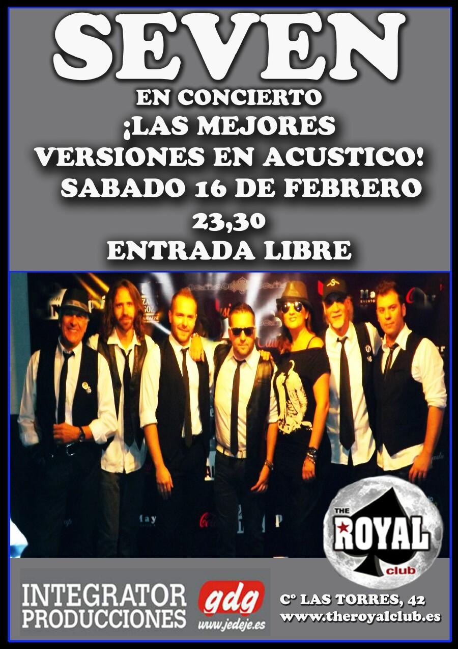 ROYAL CLUB seven zgz conciertos