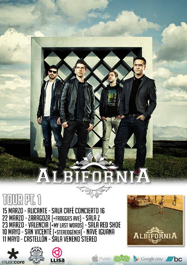 Concierto Albifornia Sala Zeta Zaragoza