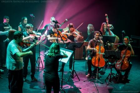 Concierto Orquesta teatro de las Esquinas Zaragoza