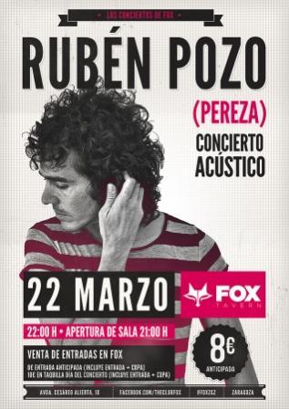 Concierto de Ruben Pozo