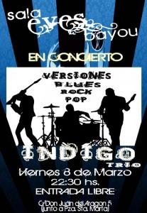 INDIGO  @ EVES BAYOU | Zaragoza | Aragón | España