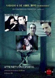 My Beloved Death + El Giro Orgánico + Mondträume zgz conciertos