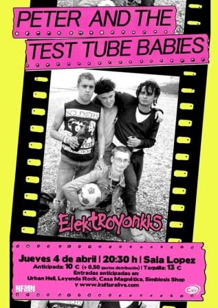 Peter and the test tube babies en Sala Lopez