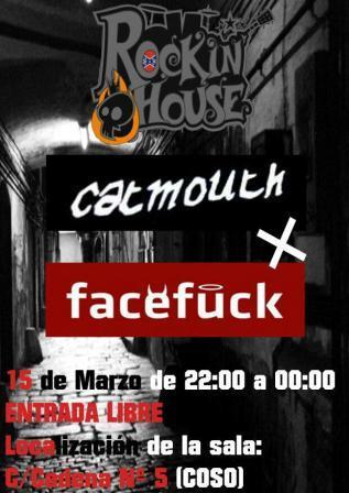 Viernes 15 de marzo concierto Catmouth