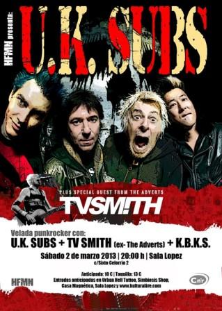 concierto zaragoza uksubs tv smith kbks