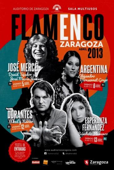 Ciclo flamenco Zaragoza