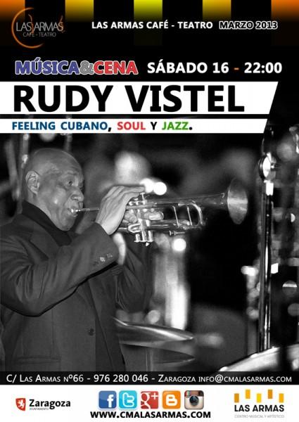 Rudy Vistel en Las Armas