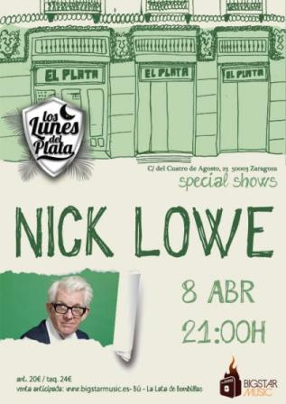 Concierto Nick Lowe