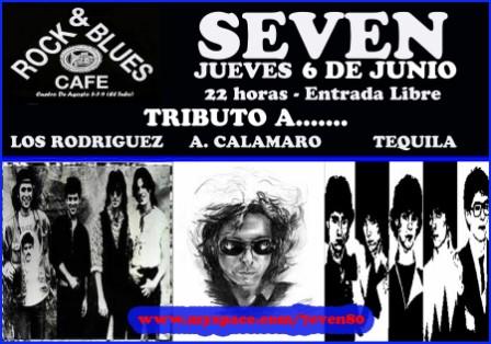 Concierto Seven Rock & Blues 6 junio