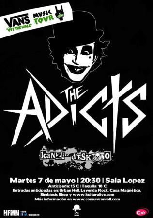 Concierto The Adicts