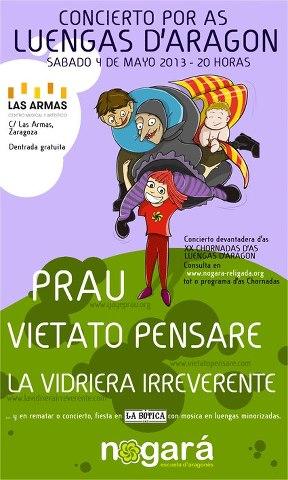 Concierto - XX Chornadas d'as Luengas d'Aragón zgz conciertos