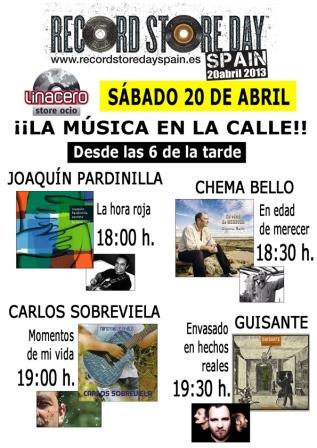 Conciertos Record Store Day