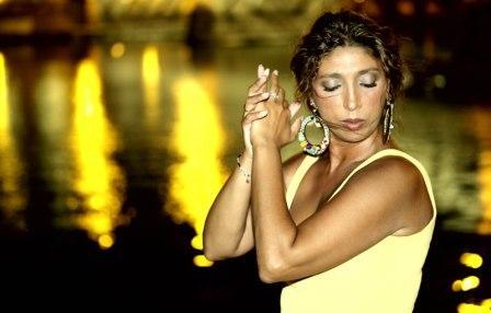 Esperanza Fernandez en concierto