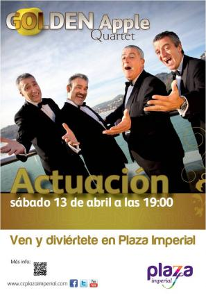 Golden Apple Quartet en concierto