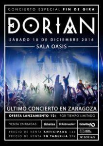 DORIAN @ SALA OASIS | Zaragoza | Aragón | España