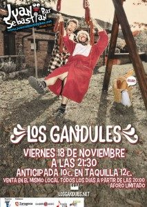 LOS GANDULES @ Juan Sebastián Bar | Zaragoza | Aragón | España
