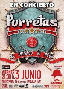 PORRETAS @ SALA LOPEZ | Zaragoza | Aragón | España