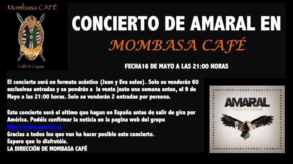 Amaral Zgz Conciertos