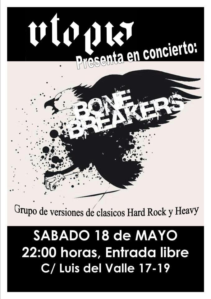Bonebreakers zgz conciertos