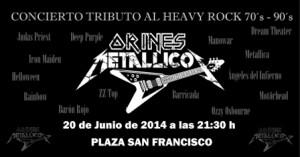 Orines Metallicos @ PLAZA SAN FRANCISCO | Zaragoza | Aragón | España