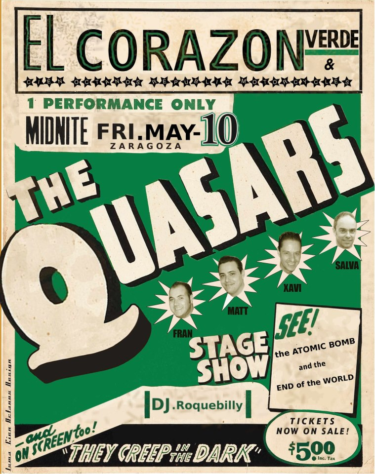 THE QUASARS Zgz Conciertos