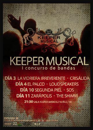Concurso de bandas Keeper Musical