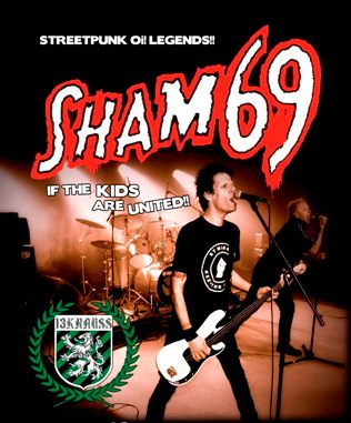 Sham 69 + 13 Krauss