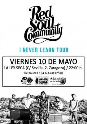 red soul community en la ley seca