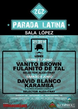 zgz parada latina 2013