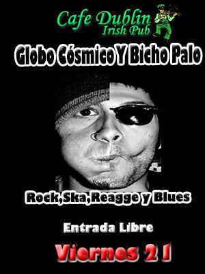 Globo Cósmico Y Bicho Palo