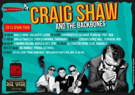 CRAIG SHAW & THE BACKBONES