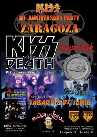 Concierto Jacare Jack y Kiss of Death