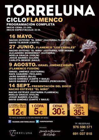 Conciertos Ciclo Flamenco Torreluna